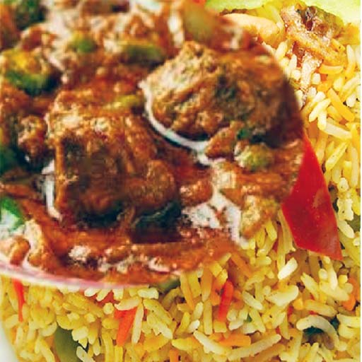 Mutton Briyani (Not available fr 3am to 10am)